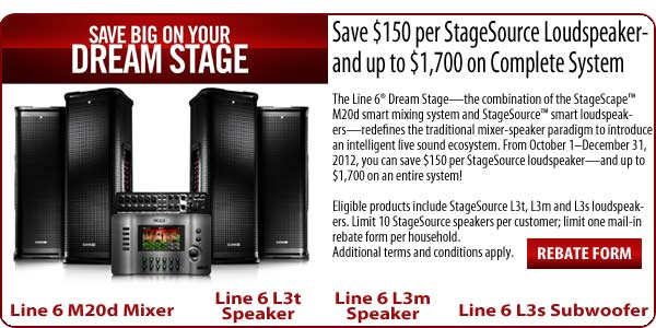 Line 6 Dream Stage